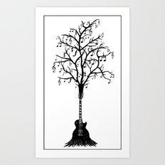 Musical growth Art Print