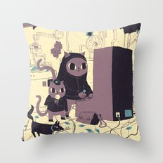 old discovery Throw Pillow