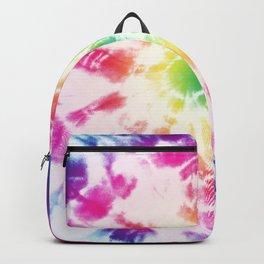 Tie-Dye Sunburst Rainbow Backpack