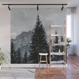Stormy Forest | Nature and Landscape Photography Wall Mural