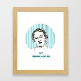 Wentworth   Liz Birdsworth Framed Art Print