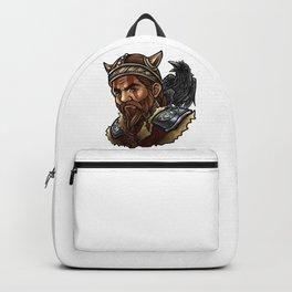 Viking | Warrior Raven Odin Walhalla Valknut Loki Backpack