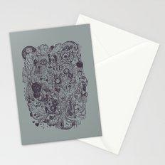 Polyphobic Vomit Stationery Cards