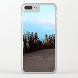 Pillars of the Past Clear iPhone Case