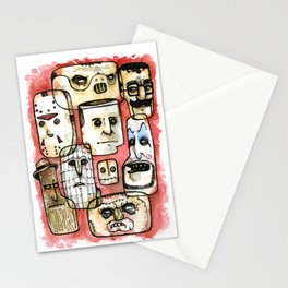 Oh The Horror Stationery Cards