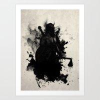 viking Art Prints featuring Viking by Nicklas Gustafsson