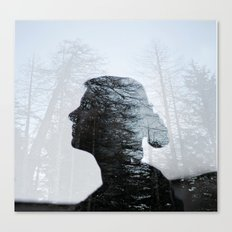 Don't hide in the woods Canvas Print
