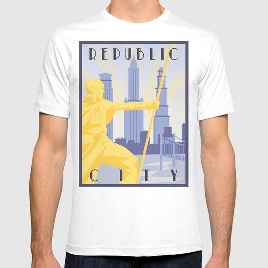 Republic City Travel Poster T-shirt