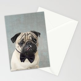Mr Pug Stationery Cards