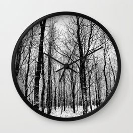 Haunter Of The Woods Wall Clock