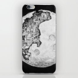 Party in the Moon iPhone Skin