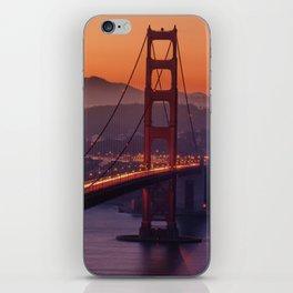 Golden_Gate_Bridge_20170801_by_JAMFoto iPhone Skin