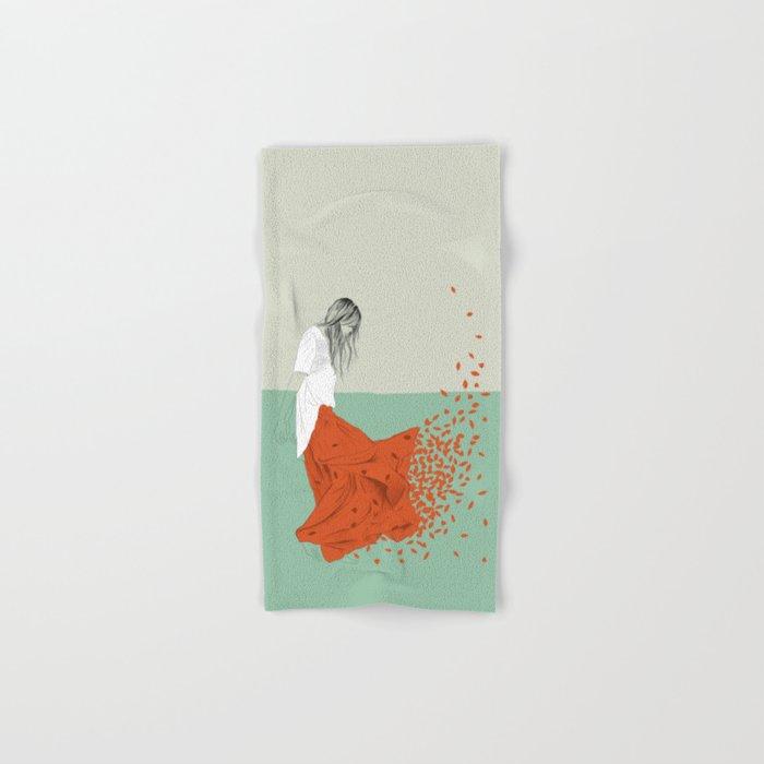 Woman Color 9 Hand & Bath Towel