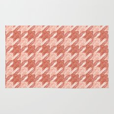 lobster houndstooth Rug