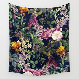 Midnight Forest VII Wall Tapestry