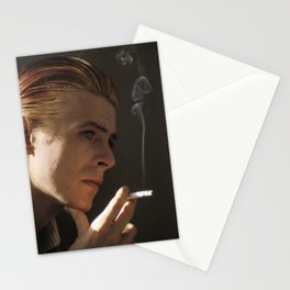 Smokin' Bowie Stationery Cards