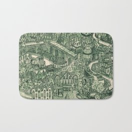 Two Cannels Bath Mat