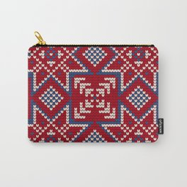 Pattern in Grandma Style #35 Carry-All Pouch