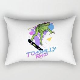 toadally rad Rectangular Pillow