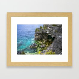 The Grotto Framed Art Print