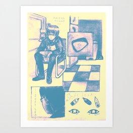 Soft Lead Art Print