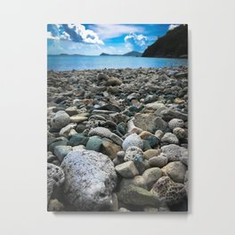 Coral Beach Metal Print