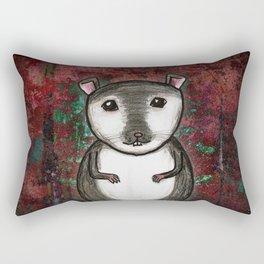 Gemma the Gerbil Rectangular Pillow