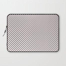Twilight Mauve Polka Dots Laptop Sleeve