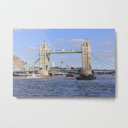 Tower Bridge, London, UK Metal Print