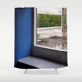 Villa Savoye 2 Shower Curtain