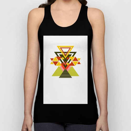 MOUNTAINS THROUGH MOUNTAINS  Unisex Tank Top