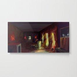 Kitty room Metal Print