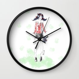 Summer Marinette Wall Clock