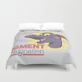Lovable Fellow Duvet Cover
