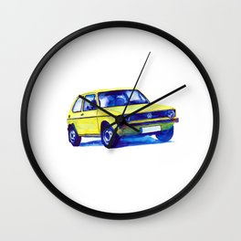 VW Golf mk.1 Wall Clock