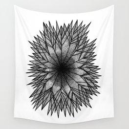 Pointillism Star Wall Tapestry
