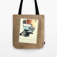 stiles stilinski Tote Bags featuring Teen Wolf - Stiles Stilinski by Petia Koteva
