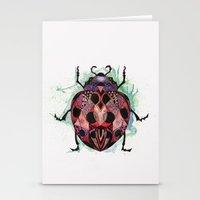 ladybug Stationery Cards featuring Ladybug by SilviaGancheva