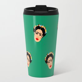 Frida Frenzy Travel Mug