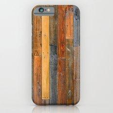Jumbled Planks Slim Case iPhone 6