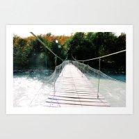 [№21] The Crossing Art Print
