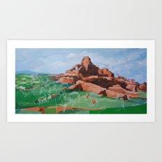 Prehistory Art Print