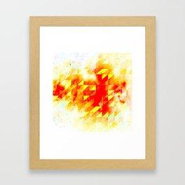 VIOLENT Framed Art Print