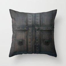 Sanctuary of Secrets Throw Pillow