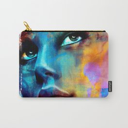 Dreaming in blue Carry-All Pouch