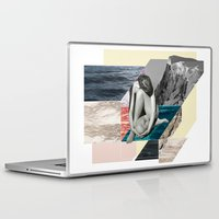anxiety Laptop & iPad Skins featuring Social Anxiety by Lerson