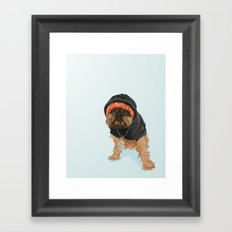 Gangster Digby Framed Art Print