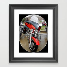 Harley 110 years Framed Art Print