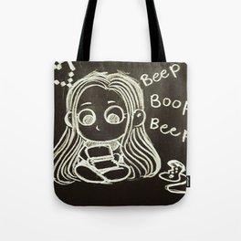 Cute Gamer Girl Tote Bag