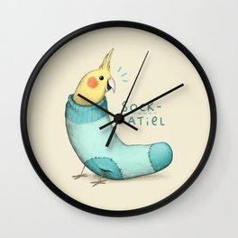 Sockatiel Wall Clock